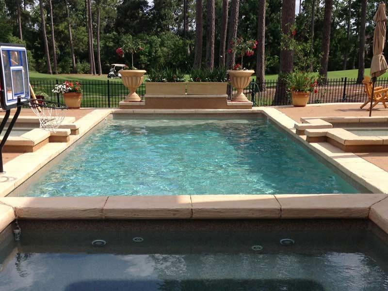 Rectangle Pool – Hutchison Fiberglass Pools & Spas